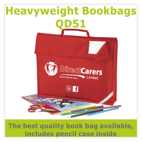 Heavyweight QD51 Book bag